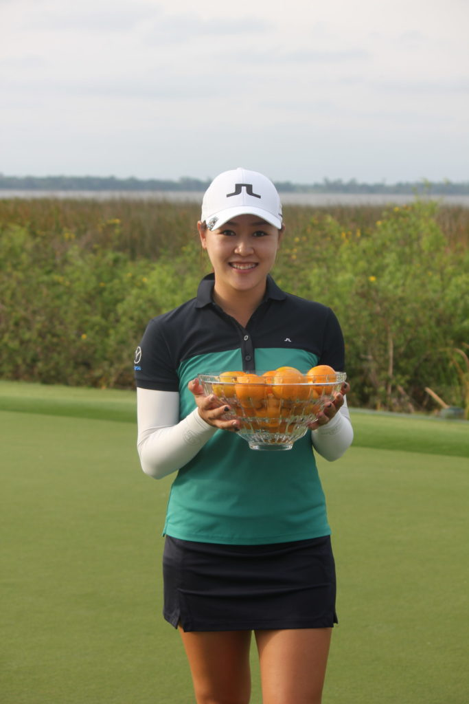 Kelly Tan - 2019 Florida's Natural Charity Classic winner